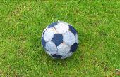 Zelfgemaakte Voetbal bal voetbal