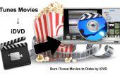 Branden van iTunes films naar schijven door iDVD (Mac)