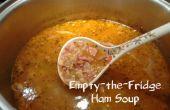 Leeg-de-koelkast Ham soep