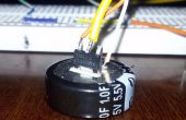 Super condensator batterij voor muis