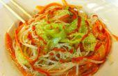 Eenvoudige sesam Noodle salade