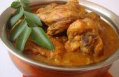 Eenvoudige Indiase kip Curry