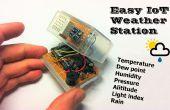 Gemakkelijk IoT-weerstation met meerdere sensoren