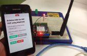 Remote Controlled LED met behulp van de mobiele telefoon en Internet