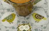 Rauwe chocolade goji berry banaan smoothy
