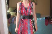 Hoe maak je een Halter jurk uit hals banden