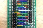 9-Charlieplexor (9-pins voor 72 LEDs)