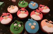 Boze vogel Cupcakes