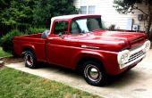 1960 Ford F-100 Truck restauratie