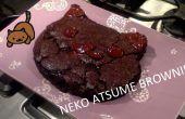 Neko Atsume kat hoofd Brownie