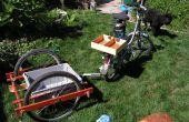 Zinderende zeepokken, een andere fiets aanhangwagen!