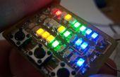 Microdot - pols horloge LED patroon uurwerk