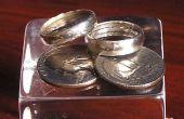 Een zilveren ring maken voor 25 cent