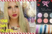 DIY Make-up palet - DIY oogschaduw palet