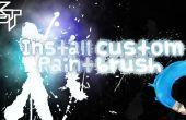 Download & installeren aangepaste Brushes - Photoshop Tutorial