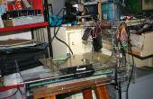 Laser graveren machine CNC (productie van Laser Gravure Machine door met behulp van verspild CD-station of Printer)