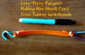 Kleine Bungees: Maken van Mini Shock koord van Rubber polsbandjes