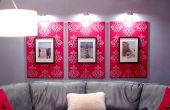Stenciled Canvas en Frames met behulp van StencilPro