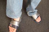 Uw slippers omzetten in sport sandalen