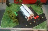 Maak een Diorama met behulp van schuim