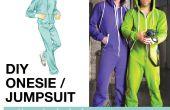 Volwassen Onesie / patroon Jumpsuit