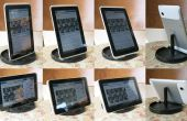 Super gemakkelijk gratis verstelbare Tablet-standaard van cd spindel