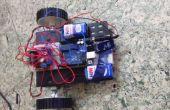 Bouwen van een eenvoudige Robot met behulp van een Arduino en L293 (H-brug)