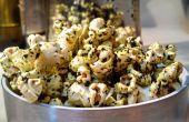 PopKale - hoe maak je doorgewinterde popcorn met truffelolie geïnfundeerd boerenkool chip verpulvert
