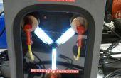 Flux Capacitor deurbel met behulp van Intel Edison