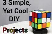 3 eenvoudige, nog Cool DIY projecten (P1)