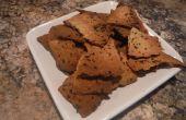Geroosterde knoflook en kruid Crackers