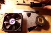 Repareren van een beschadigde PC fan