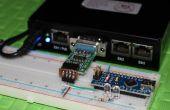 Met behulp van MikroTik Router Board 433 & Arduino twee LED's
