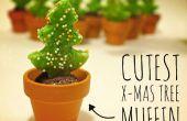 Leukste chocolade-citroen x-mas Tree Muffin