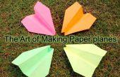 Super eenvoudige papier vliegtuig