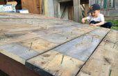 Schuur Ramp - hoe het bouwen van een robuuste tuin werpen helling