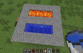 Hoe maak je een eenvoudige Minecraft geplaveide generator!