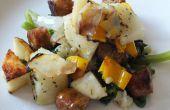 Aardappel & worst een Packet maaltijd