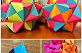 Post-It Origami icosaëder