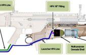 Airsoft Wiimote Rapid Fire Grenade Launcher Mod