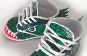 DIY dinosaurus peuter schoenen