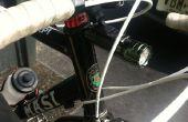 Zet uw relector in het licht van een fiets!