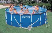 Boven de grond zwembad scherm