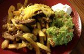Carne Asada friet en ontbijt Californië Burrito