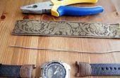 Het herstellen van uw oude horloge met de verkeerde horloge band