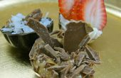 Decadente chocolade truffel Dessert Shells