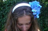 Hoe maak je een gloeiende bloem hoofdband