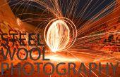 Ongelooflijke staalwol fotografie!