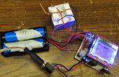 18650 batterij capaciteit Tester