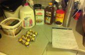 Zelfgemaakte Ferrero Rocher Fudgesicles